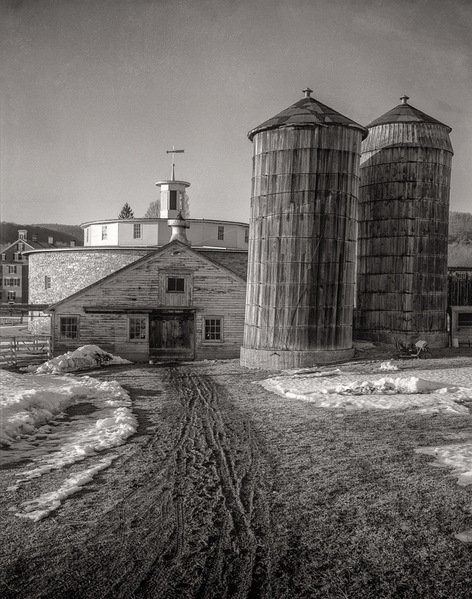 Wooden Silos - before rebuild