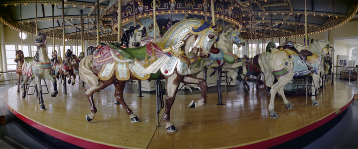 Lincoln Park Carousel, Restored at Battleship Cove, Fall River, MA